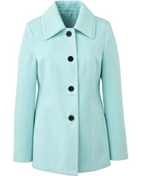 Simply Be - Collared Coat - Lyst
