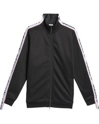 94737bb9ecc Lyst - adidas Originals 3-stripes Long Sleeve Crop in Black