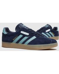 adidas originals gazelle super blue