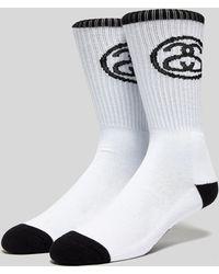 Stussy - Ss Link Socks - Lyst