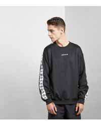 adidas Originals - Tape Crew Sweatshirt - Lyst f173d41be6