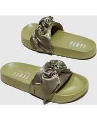 cbb95d77b735 PUMA - Fenty Bow Slide Women s - Lyst