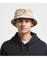 Kangol Cord Bucket Hat - Brown