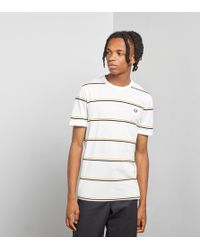 Fred Perry - Striped T-shirt - Size? Exclusive - Lyst