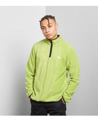 Stussy - Polar Fleece Half-zip - Lyst