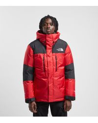 The North Face Himalayan Gore-tex Windstopper Down Jacket - Red