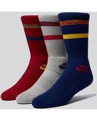 Nike - Skateboarding Crew Socks - 3 Pack - Lyst