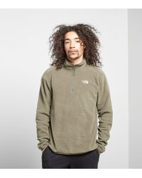 The North Face - Glacier Half Zip - Lyst