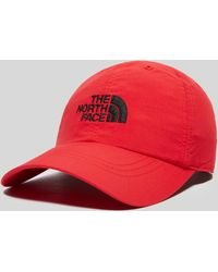 Lyst - The North Face Horizon Ball Strapback Cap in Red for Men 18c553745678