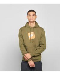 Nike - Box Logo Overhead Hoodie - Lyst