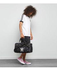 adidas Originals - Originals Travel Bag With Trefoil Logo - Lyst