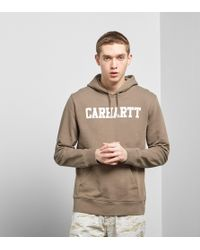 Carhartt WIP - College Hoody Size? Exclusive - Lyst