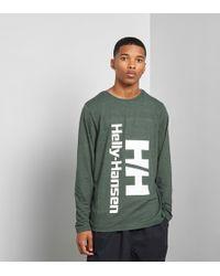 Helly Hansen - Hh Long Sleeved T-shirt - Lyst