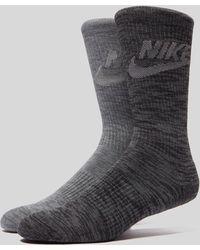 Nike - Advance Crew Socks Two Pack - Lyst
