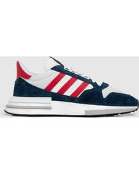 Lyst - Adidas Originals Trimm Star - Size  Exclusive in Gray for Men 697e73a27