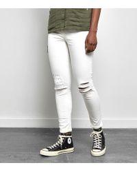 Obey - Slasher Skinny Ii Jeans - Lyst