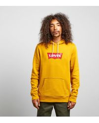 Levi's - Levis Embroidered Logo Overhead Hoodie - Lyst