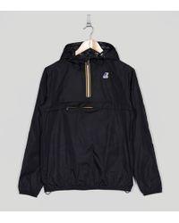 K-Way - Le Vrai Leon Half Zip Lightweight Jacket - Lyst