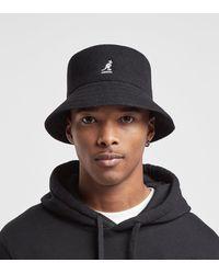 Kangol Wool Bucket Hat - Black