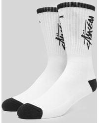 Stussy - Stock Premium Socks - Lyst