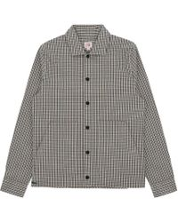 Lacoste L!ive - Check Flannel Shirt - Lyst