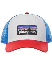 Patagonia - P-6 Logo Trucker Hat - Lyst