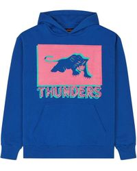 Thunders - Pop Patha Hooded Swatshirt Blue - Lyst