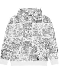 Converse - Hooded Pullover Sweatshirt X Suicidal Tendencies Optical White - Lyst