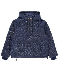 Converse - P.a.m. Quilted Hooded Sweatshirt - Lyst