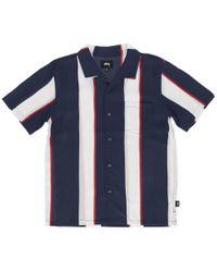Stussy - Big Stripe Shirt - Lyst