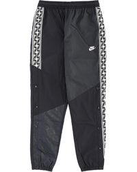 Nike - Taped Woven Pants - Lyst