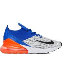 Nike - Air Max 270 Flyknit Ultramarine Sneakers - Lyst