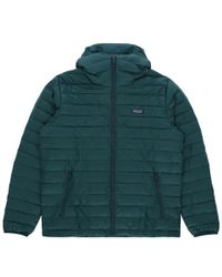 Patagonia - Down Sweater Hooded Jacket - Lyst