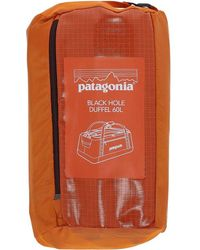 Patagonia - Black Hole Duffle 60l Bag - Lyst