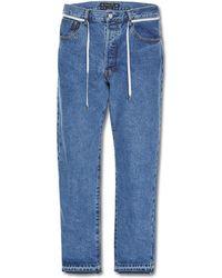 Sasquatchfabrix - 90s Silhoutte Denim Pants - Lyst