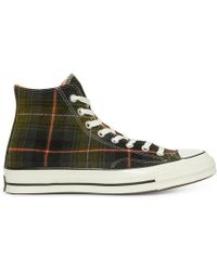 Converse - Chuck Taylor '70 Hi Plaid Sneakers - Lyst