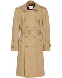 Helmut Lang - Hooded Trench Coat - Lyst
