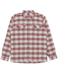 Patagonia - Fjord Flannel Shirt Light Sesame - Lyst