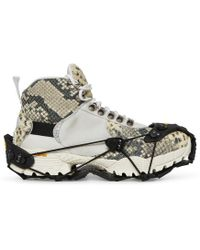 1017 ALYX 9SM - Vibram Sole Hiking Boot Black/cream - Lyst