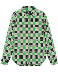 Stussy - Brent Flannel Shirt - Lyst