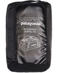 Patagonia - Pt Black Hole Duffle 45lt Black - Lyst