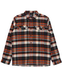 Patagonia - Fjord Flannel Shirt Marigold - Lyst