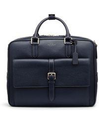Smythson - Burlington Large Briefcase - Lyst