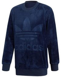 adidas Originals - Velour Crew - Lyst