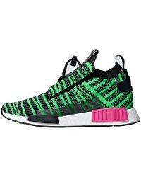 Adidas Originals Nmd R2 in Green for Men - Lyst ba8f38f65