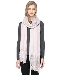SOIA & KYO | Catyanna Long Scarf With Fringe | Lyst