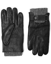 SOIA & KYO - Roy Soft Leather Gloves - Lyst