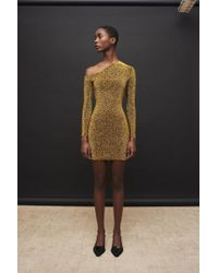 Solace London - Eyre Dress Gold - Lyst