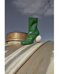 Solace London - Diego Boot Green - Lyst