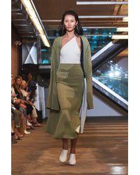 Solace London - Alina Coat Green - Lyst